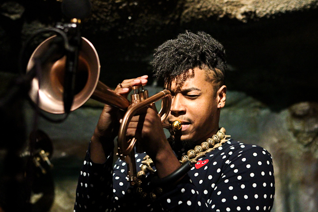 Christian Scott, trumpet