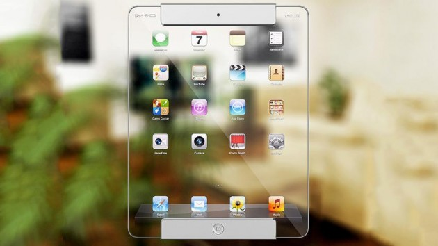 Transparent iPad 1