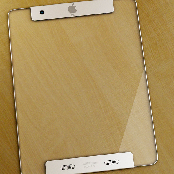 Transparent iPad 6