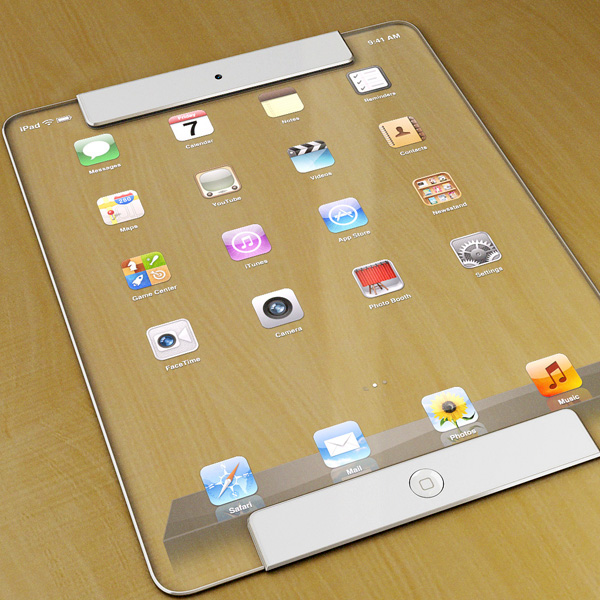 Transparent iPad 7