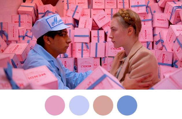 Wes Anderson Color Palettes 3