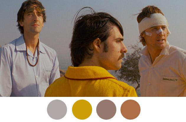 Wes Anderson Color Palettes 4