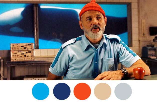 Wes Anderson Color Palettes 5