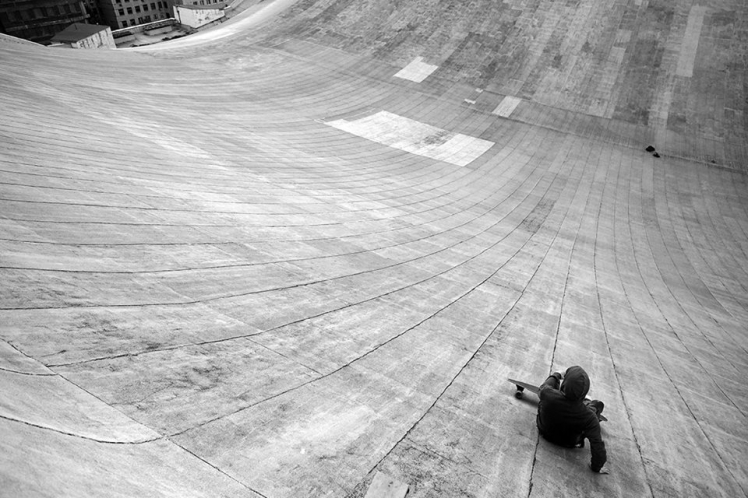 Skate On Roof 2