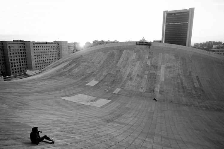Skate On Roof 3