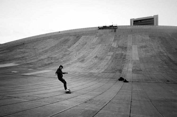 Skate On Roof 7