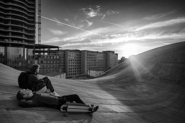 Skate On Roof 8